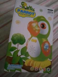 Parrot music toy