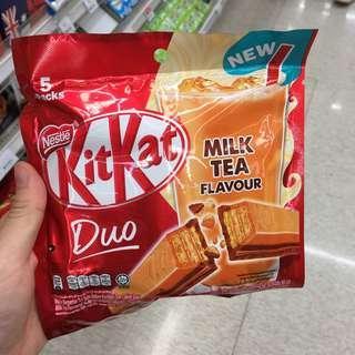 奶茶kit kat
