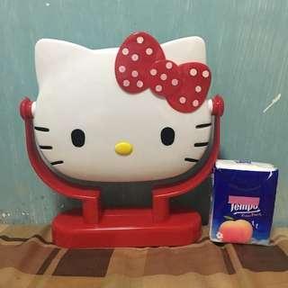 Hello Kitty make up counter mirror with box 座枱化妝鏡(有盒)