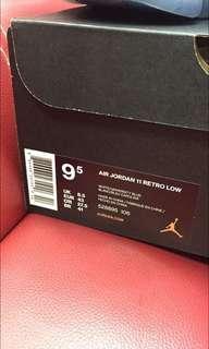 Jordan 11 retro unc