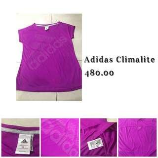 Authentic Adidas Climalite semi-glittery Sports Top