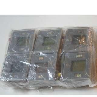 懷舊座地遊戲機扭蛋迷你版 共6款