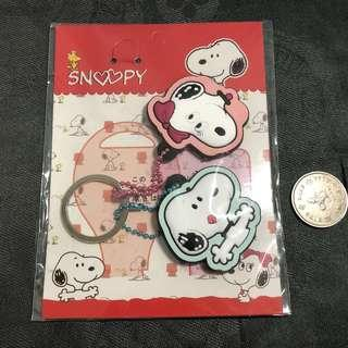 Snoopy keychains 史路比鎖鑰扣