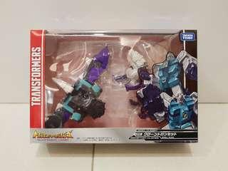 Transformers legends LG61 LG-61 Decepticons clones Pounce & Wingspan back in box
