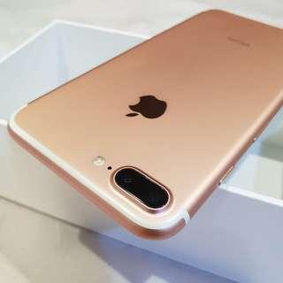 Iphone 7plus Rose Gold 128GB