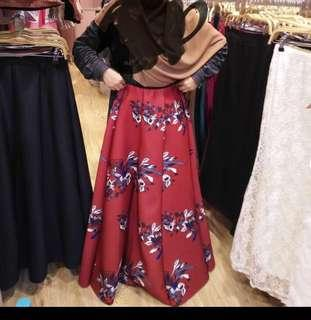Spandex Valentino Skirt