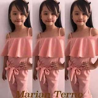 ✔️Terno for kids (5-8yrs old)