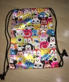 Tsum Tsum Drawstring Bag