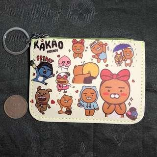 KaKao Friends coins and cards wallet 散銀及咭包