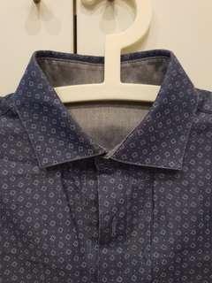 Calvin KLEIN Reversible men's L/S shirt