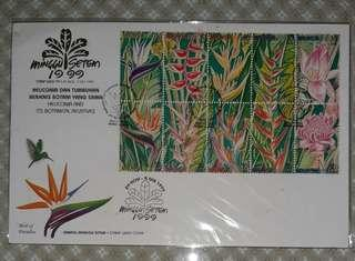 First Day Cover - Stamp Week 1999