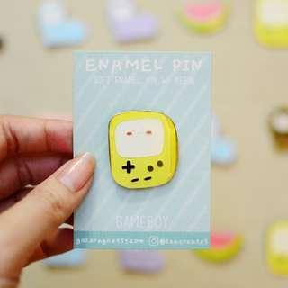 Gameboy Enamel Pin