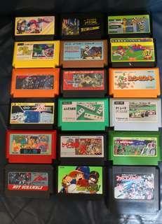 FC Nintendo Famicom Game 任天堂 紅白機 遊戲帶