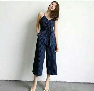 Jumpsuit navy import thailand