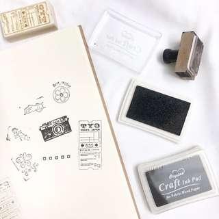 [Ready Stock] Black Ink Pad