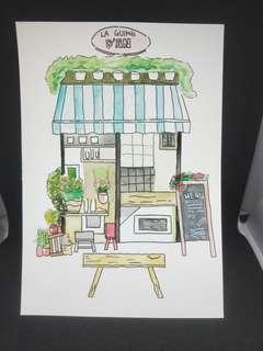 Watercolour card!