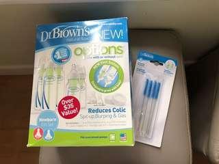 Dr Brown 防脹氣奶樽Starter Kit