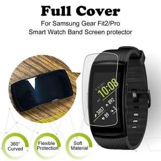 New Samsung Gear Fit 2 Pro Premium Screen Protector Clear HD