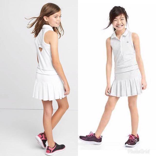 37f8d92d4988 4Y BN GapFit Kids Polo Tennis Dress (XS), Babies & Kids, Girls ...