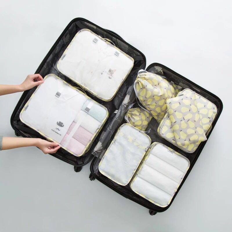 8pcs Travel organize bag