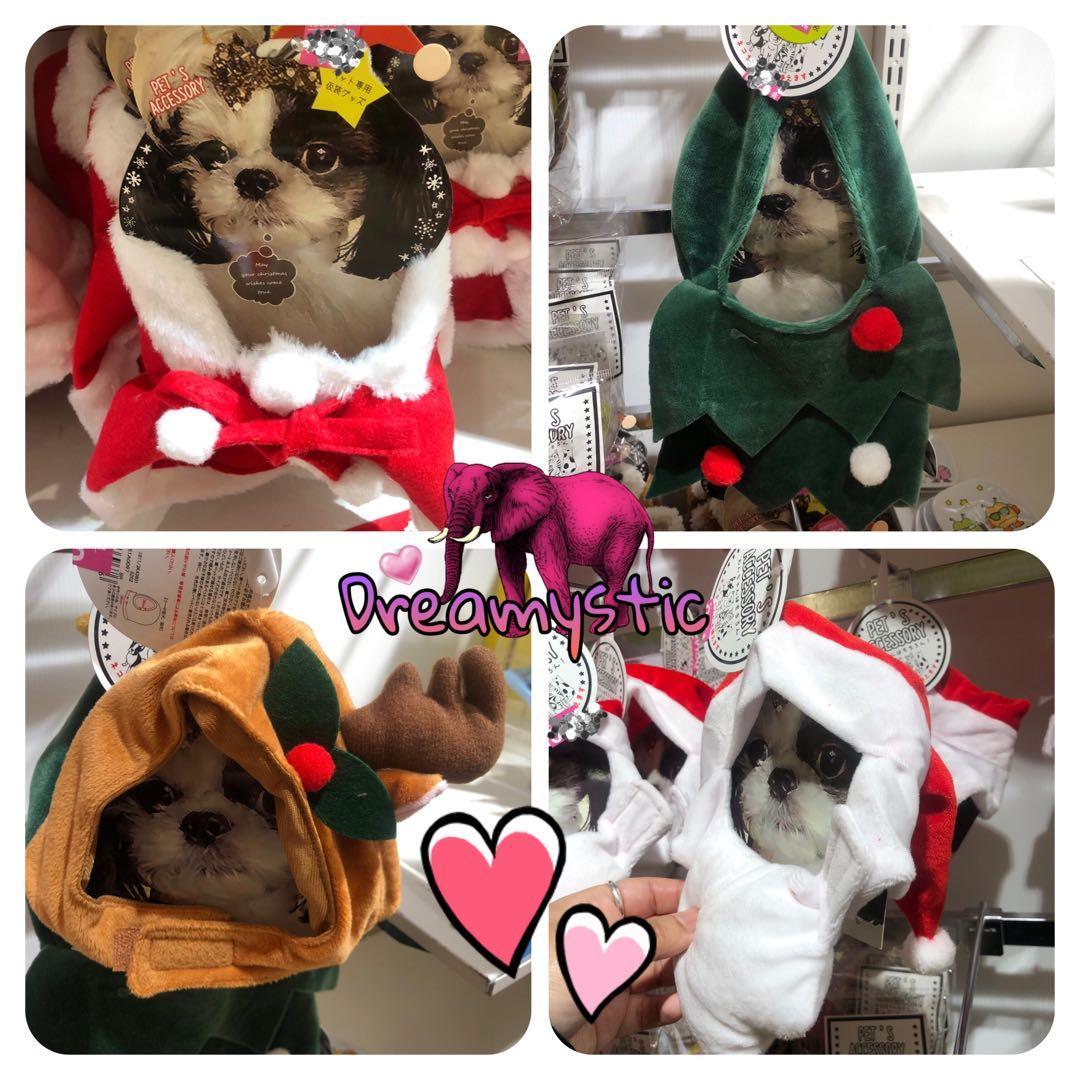 日本代購 聖誕禮物 期間限定 新品 日本連線 即時連線 寵物衫 貓仔衫 狗仔衫 寵物帽仔