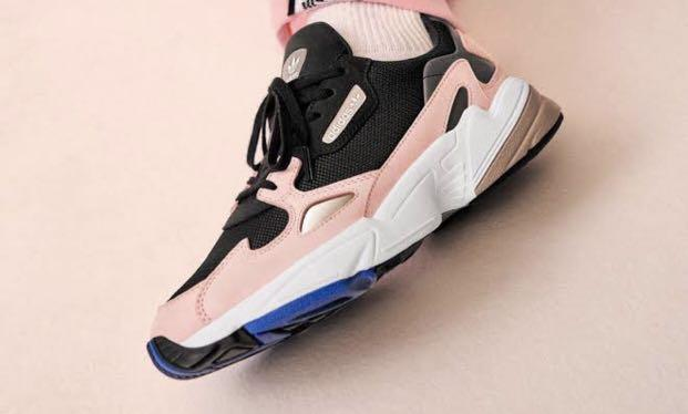 Adidas Falcon (Kylie Jenner) rubber shoes on Carousell