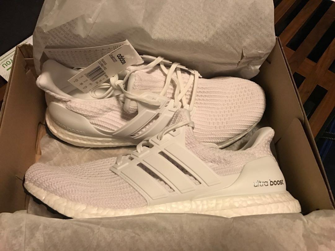 038287e9c4eaf Adidas Ultra Boost 4.0 Triple White