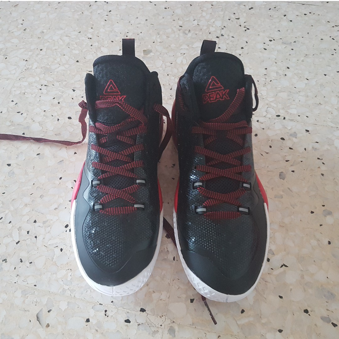 newest 55e64 22055 Alternate Colorway Red Black Streetball Master Basketball Shoe, Women s  Fashion, Shoes, Sneakers on Carousell