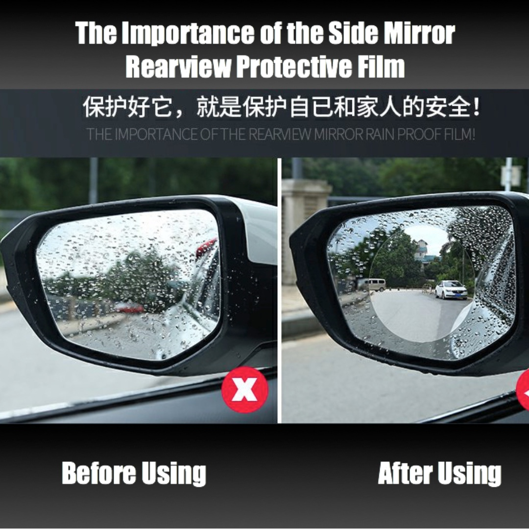 Anti Fog Film Car Rearview Waterproof Anti Fogging Anti Mist Anti