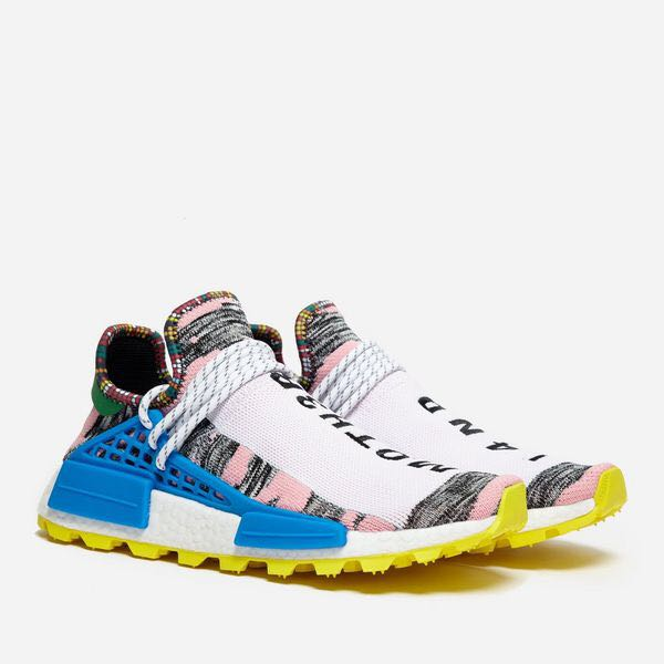 8724e27f4 Authentic Adidas x Pharrell Williams Nmd Hu Solar Pack Motherland ...