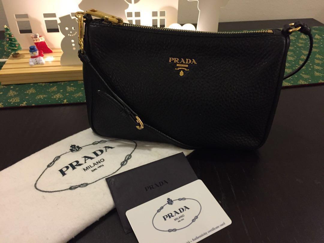 002cad39b3 Authentic Prada Small Handbag