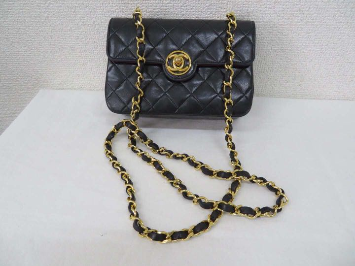 730058a8b9ff Authentic vintage Chanel mini sling bag, Luxury, Bags & Wallets ...