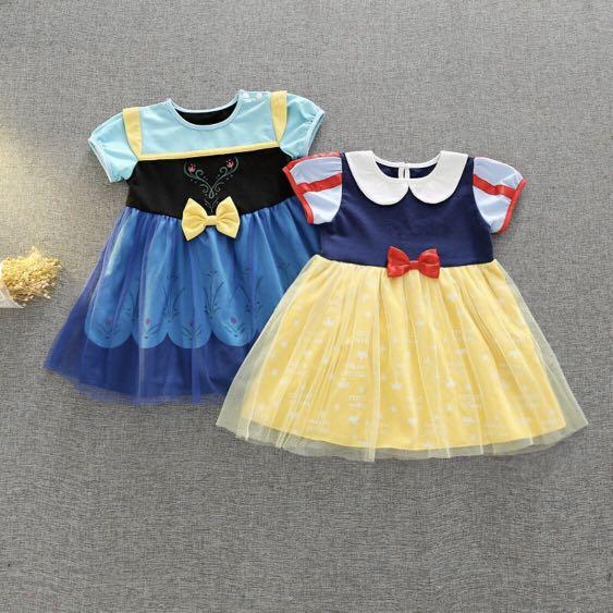 f9bd1c359d78 Baby Girl Dress baby dress disney frozen anna disney snow white (PO ...