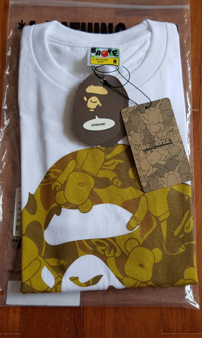fd850357 Bape Bearbrick tee, Men's Fashion, Clothes, Tops on Carousell