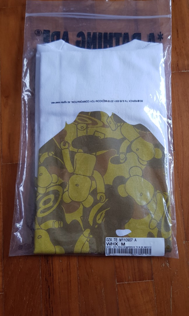 41659b53 Bape Bearbrick tee, Men's Fashion, Clothes, Tops on Carousell