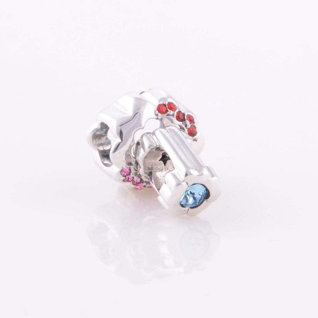 be0b0ed64 Code MS172 - Detachable Flower Two Pieces 100% 925 Sterling Silver ...