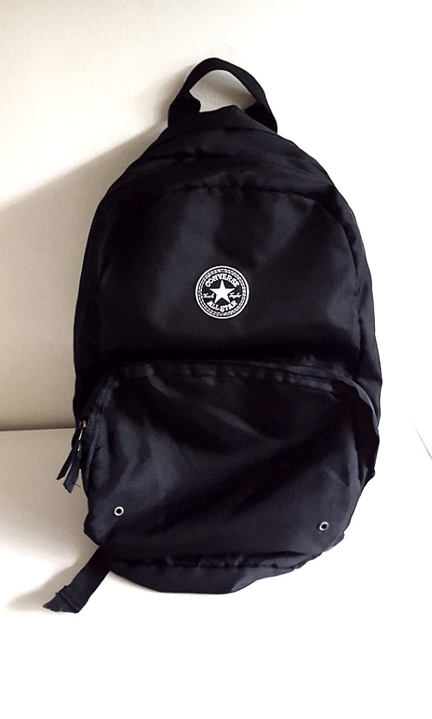 5845c3bb1fd8 ☆CONVERSE☆ Black Backpack
