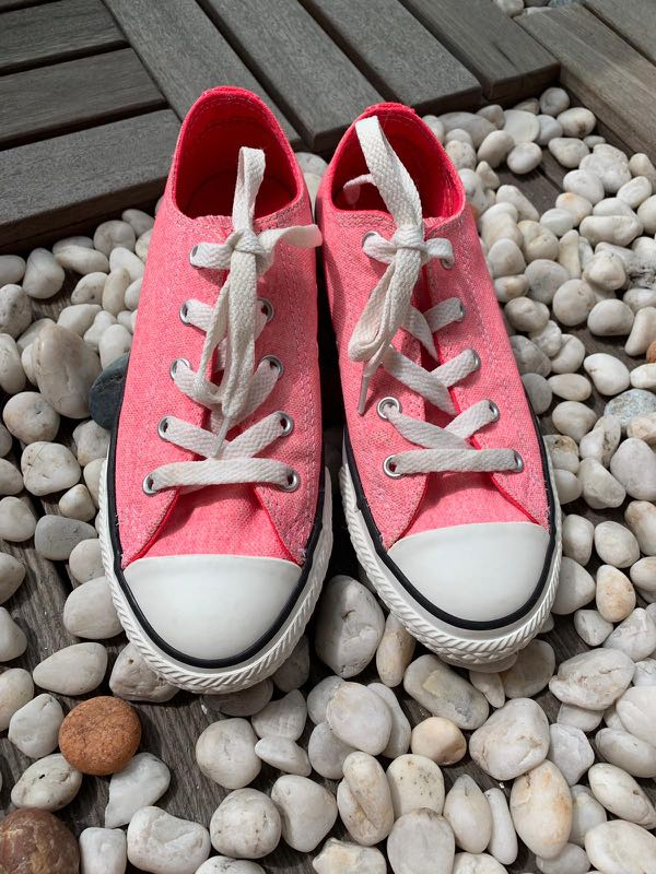 Converse Chuck Taylor Neon Pink Youth 1 78614ebe2