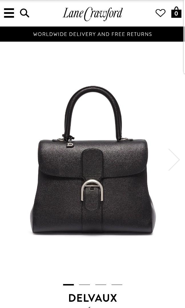 Delvaux brillant MM Rodeo Noir, Luxury, Bags   Wallets, Handbags on ... 71734f4634