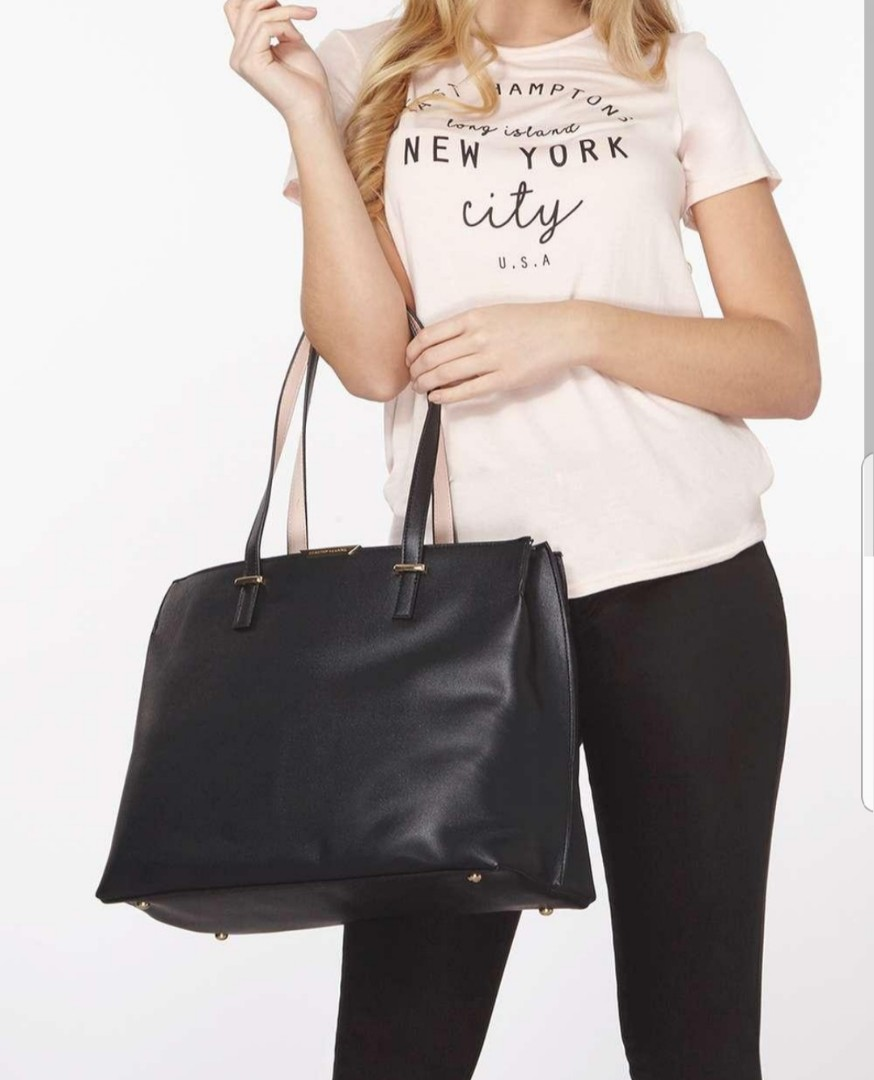 f6abffbf2cfb Dorothy Perkins Black Oversized Tote Bag