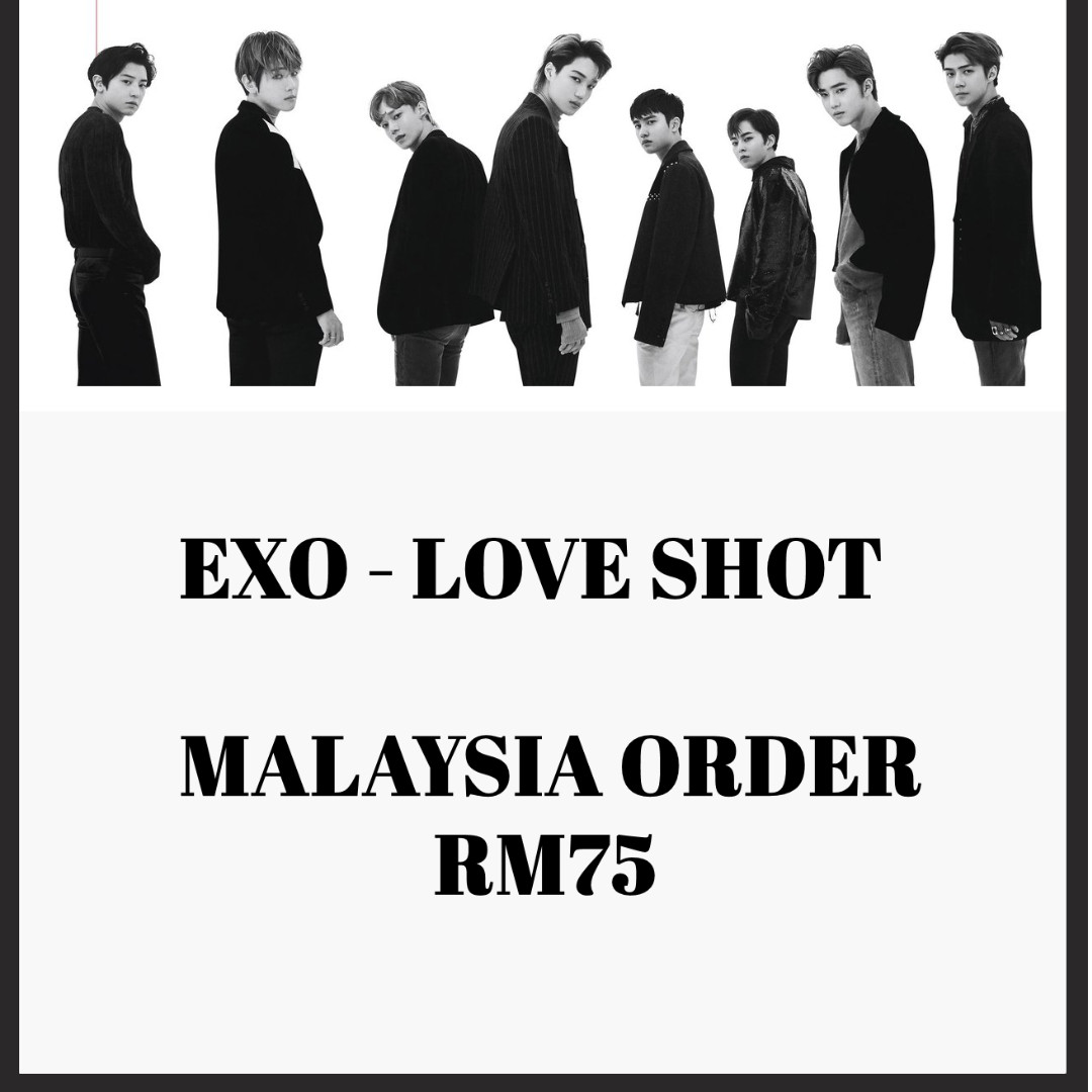 Exo Love Shot Album