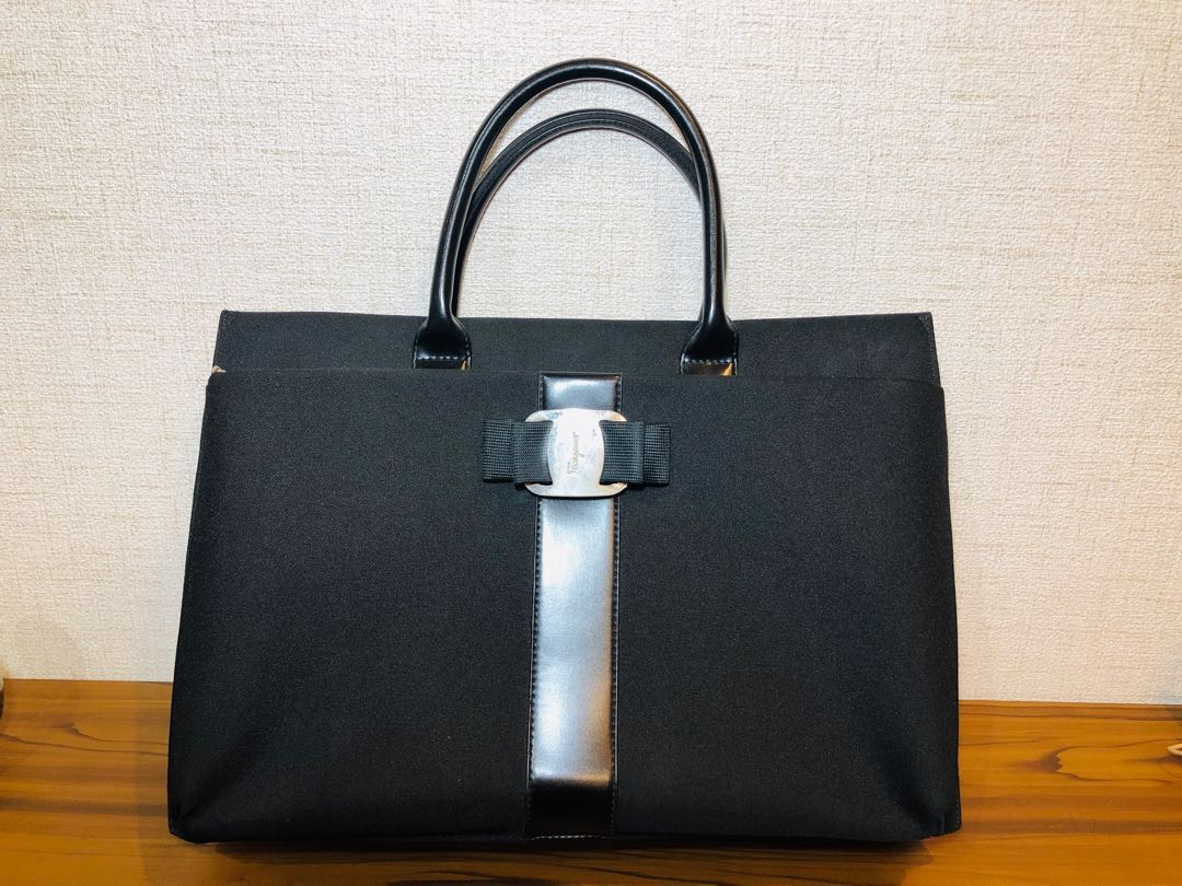 eb243827cf Ferragamo Black Handbag
