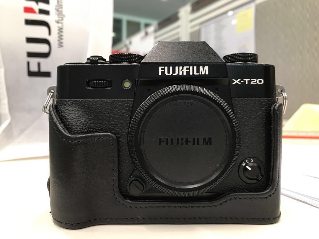 fujifilm xt20 body black 18 55 kit lens photography. Black Bedroom Furniture Sets. Home Design Ideas