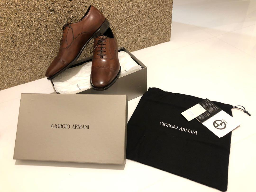 Giorgio Armani Men's Shoes, Luxury