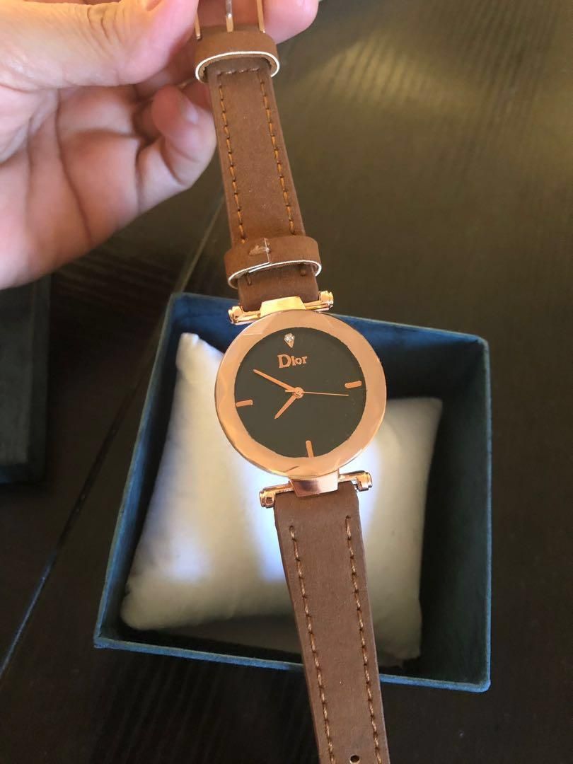 Good quality copy Dior women's watch ,( new worn once !)