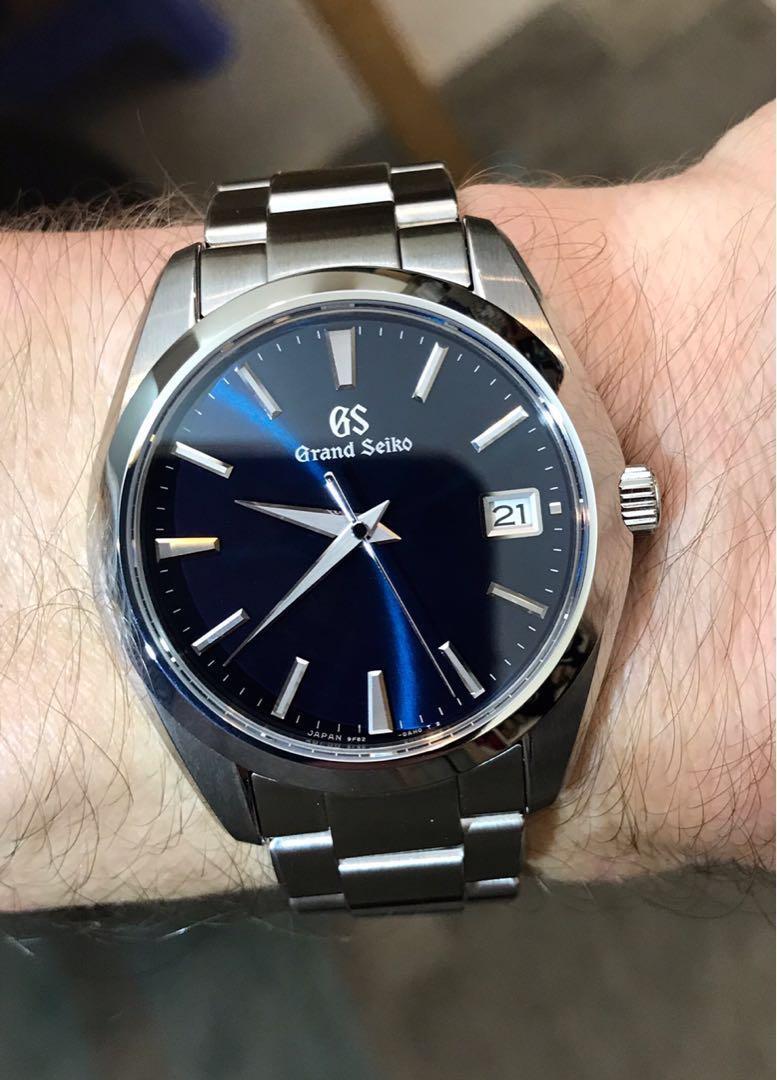 Grand Seiko Sbgv225 95 Luxury Watches On Carousell