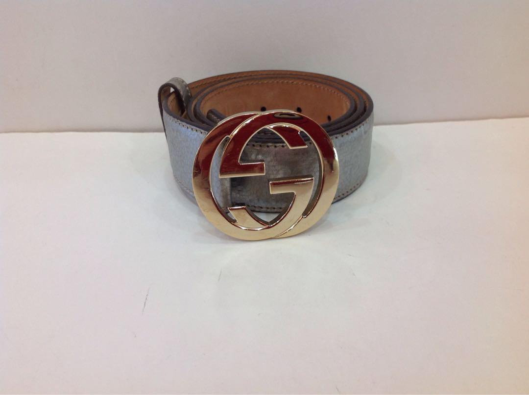 7b4702895 GUCCI SIGNATURE LEATHER BELT 85CM, Luxury, Accessories, Belts on ...