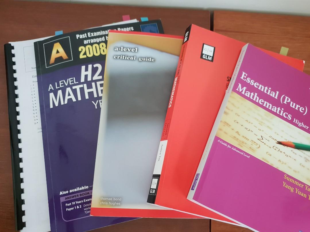 H2 Math Resources