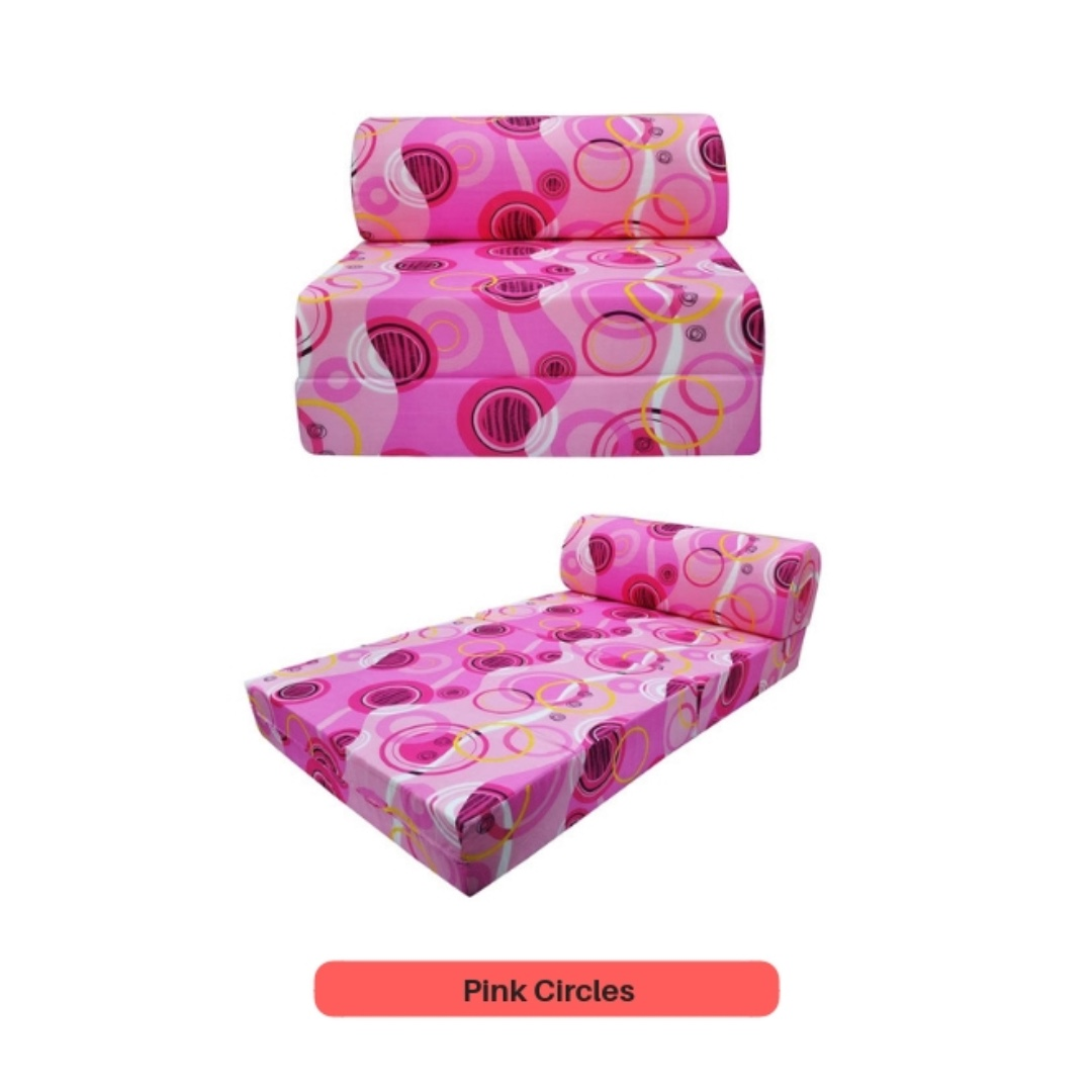 Pleasant Hot Pink Sofabed Free Delivery Machost Co Dining Chair Design Ideas Machostcouk