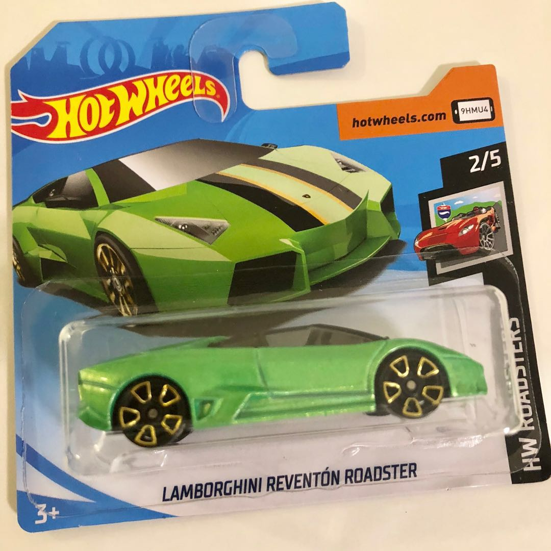 Hot Wheels Lamborghini Reventon Roadster Toys Games Bricks